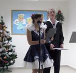 Vánoční besídka v DD Planá