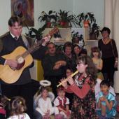 Vánoční besídka v DD Kašperské Hory - 2011.