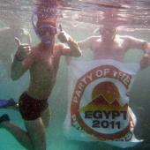 Lukáš a jeho spokojenost s pobytem v Egyptě