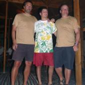 závěrečný večer v hotelu Sonesta Beach Taba, Lukáš mezi šéfy První chodské