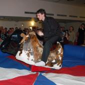 """Své štěstí na """"divokém býku"""" zkusil i Lukáš Křivohlavý ..."""
