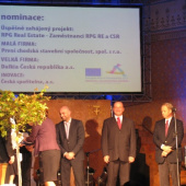 """nominace projektů v kategorii """"Nejodpovědnější partnerství se zaměstnanci roku 2010"""""""