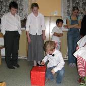 Vánoční besídka v Dětském domově v Nepomuku