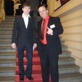 Lukáš Kralovič s patronem projektu Ing. Vladimírem Zábranským