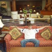 odpočinek po náročném dni na hotelu